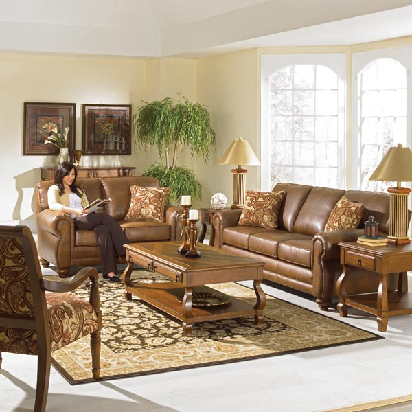 Living Room/Sofas/Loveseats/ClubChairs/Sectionals/Queen Ann Chairs ...